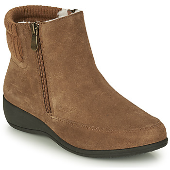 Shoes Women Ankle boots Damart 51404 Brown