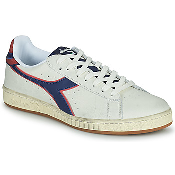 Shoes Men Low top trainers Diadora GAME L LOW ICONA White / Blue