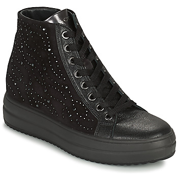 Shoes Women High top trainers IgI&CO DONNA SHIRLEY Black