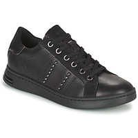 Shoes Women Low top trainers Geox JAYSEN Black