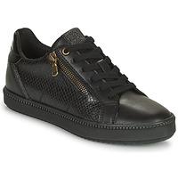 Shoes Women Low top trainers Geox BLOMIEE Black