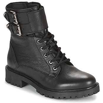Shoes Women Ankle boots Geox HOARA Black