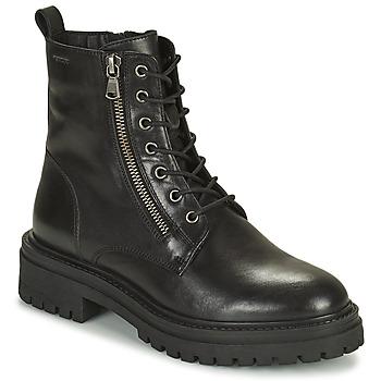 Shoes Women Ankle boots Geox IRIDEA Black