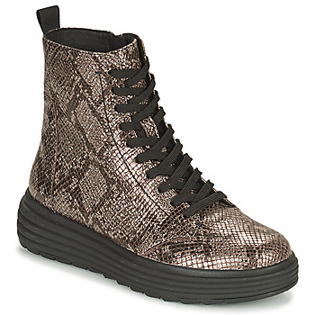 Shoes Women Mid boots Geox PHAOLAE Brown
