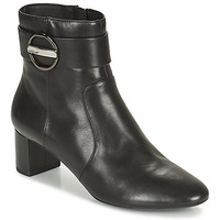 Shoes Women Ankle boots Geox PHEBY Black
