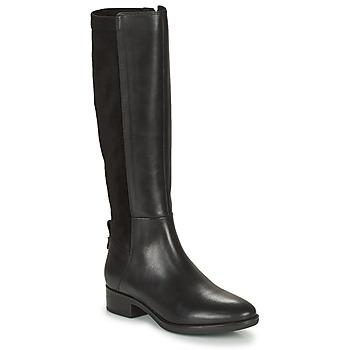 Shoes Women Boots Geox FELICITY Black