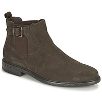 Shoes Men Mid boots Geox TERENCE Brown
