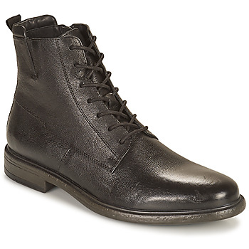 Shoes Men Mid boots Geox TERENCE Black