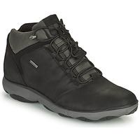 Shoes Men Mid boots Geox NEBULA Black