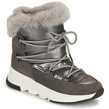 Shoes Women Snow boots Geox FALENA ABX Grey