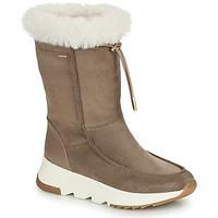 Shoes Women Snow boots Geox FALENA ABX Beige