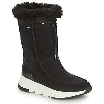 Shoes Women Snow boots Geox FALENA ABX Black
