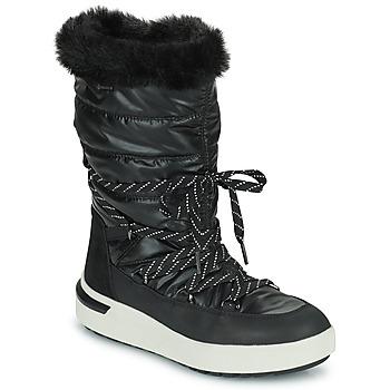 Shoes Women Snow boots Geox DALYLA ABX Black