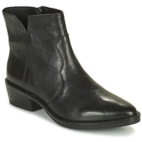 Shoes Women Mid boots Geox TEOCLEA Black