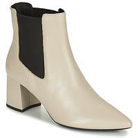 Shoes Women Ankle boots Geox BIGLIANA Beige