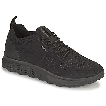 Shoes Men Low top trainers Geox SPHERICA Black