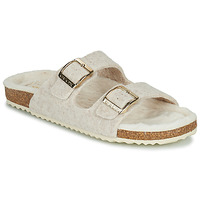 Shoes Women Slippers Geox BRIONIA Beige