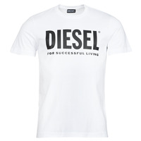 material Men short-sleeved t-shirts Diesel T-DIEGOS-ECOLOGO White