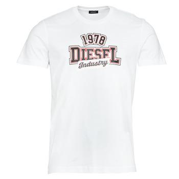 material Men short-sleeved t-shirts Diesel T-DIEGOS-K26 White