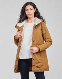 material Women Parkas Columbia SOUTH CANYON SHERPA LINED JACKET Brown