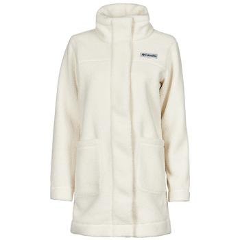 material Women coats Columbia PANORAMA LONG JACKET White