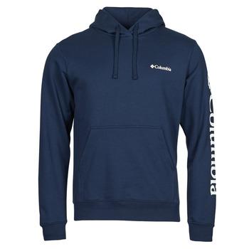material Men sweaters Columbia VIEWMONT II SLEEVE GRAPHIC HOODIE Marine / White