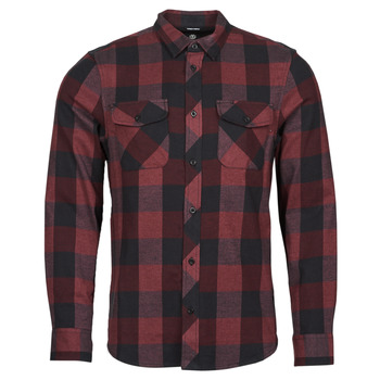 material Men long-sleeved shirts Element TACOMA Red