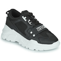 Shoes Men Low top trainers Versace Jeans Couture DOLINE Black