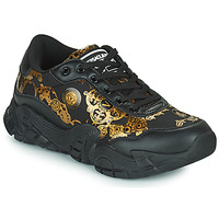 Shoes Men Low top trainers Versace Jeans Couture FELINO Black / Printed / Baroque