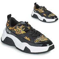 Shoes Women Low top trainers Versace Jeans Couture FELINA Black / Printed / Baroque