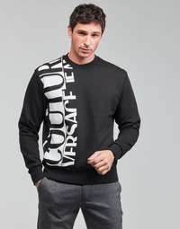material Men sweaters Versace Jeans Couture LOGO STORY Black / White