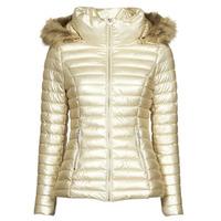 material Women Duffel coats Les Petites Bombes ALIMA Gold