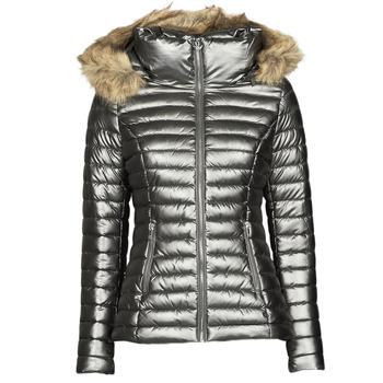 material Women Duffel coats Les Petites Bombes ALIMA Grey