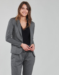 material Women Jackets / Blazers Les Petites Bombes ANNE Grey / Anthracite