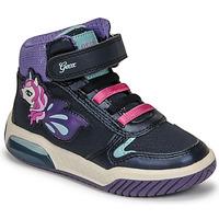 Shoes Girl High top trainers Geox INEK Violet