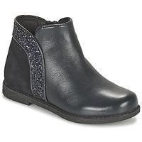 Shoes Girl Mid boots Geox SHAWNTEL Marine