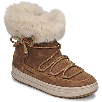 Shoes Girl Mid boots Geox REBECCA WPF Camel