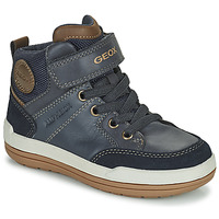 Shoes Boy Mid boots Geox CHARZ ABX Marine
