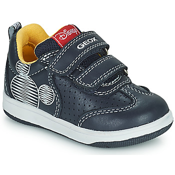 Shoes Boy Low top trainers Geox NEW FLICK Marine