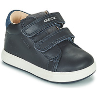 Shoes Boy Low top trainers Geox BIGLIA Marine