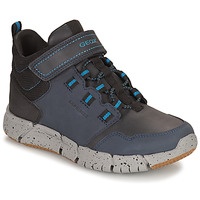 Shoes Boy Mid boots Geox FLEXYPER ABX Marine