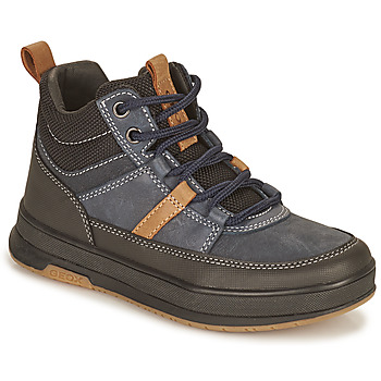 Shoes Boy Mid boots Geox ASTUTO Marine