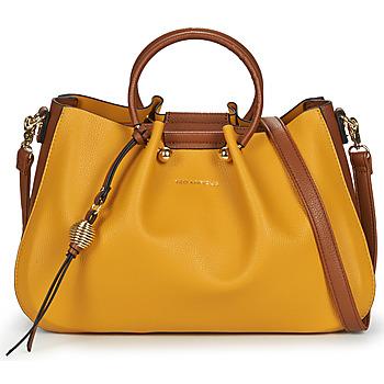 Bags Women Handbags Ted Lapidus GRETEL Yellow / Brown
