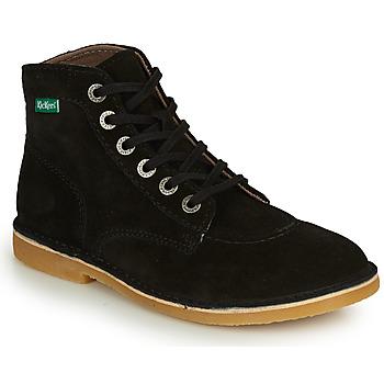 Shoes Women Mid boots Kickers ORILEGEND Black