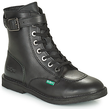 Shoes Women Mid boots Kickers KICK TREND Black
