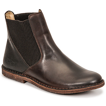 Shoes Women Mid boots Kickers TINTO Brown