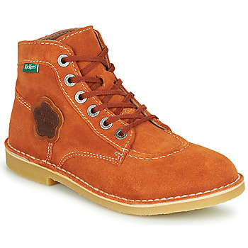 Shoes Women Mid boots Kickers ORILEGEND Red
