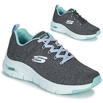 Shoes Women Low top trainers Skechers ARCH FIT Grey / Blue