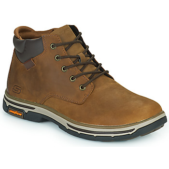 Shoes Men Mid boots Skechers SEGMENT 2.0 Brown