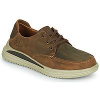 Shoes Men Low top trainers Skechers PROVEN Brown